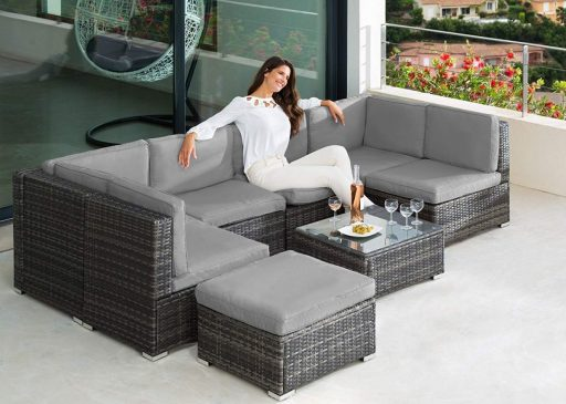 Muebles De Terraza Y Jardín Mobiliario De Exterior Al