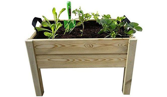Mesa cultivo madera terrazas