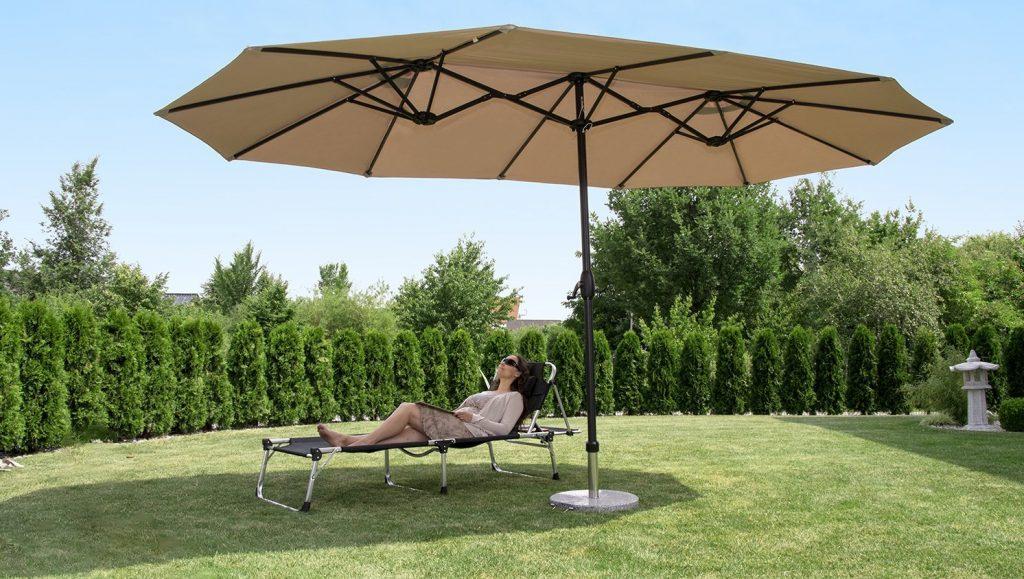 Sombrillas De Jardin Los Mejores Precios Y Ofertas Del 2018 - Sombrillas-grandes-para-jardin