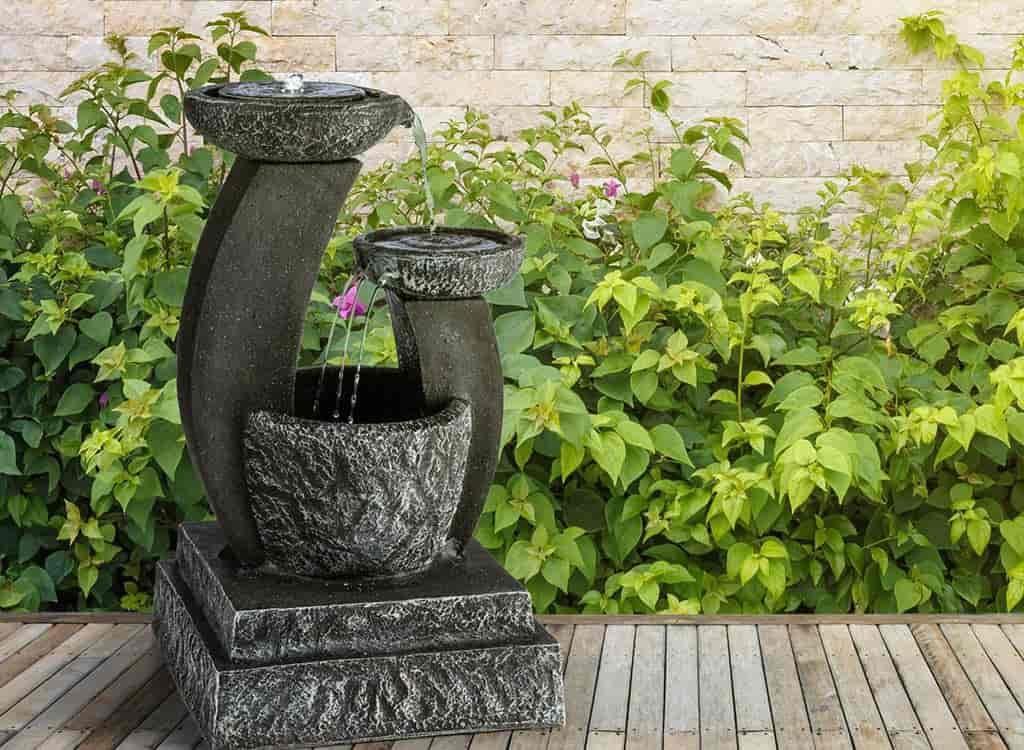 fuente diseño para terraza