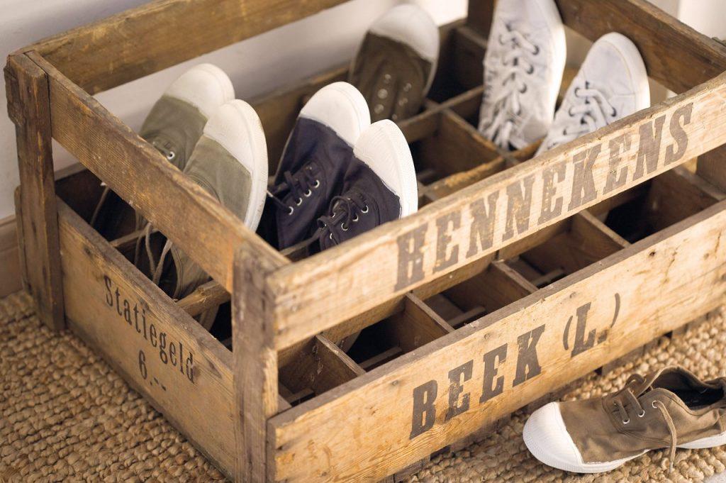 caja zapatero palets