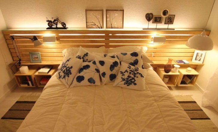 cama cabecero palets