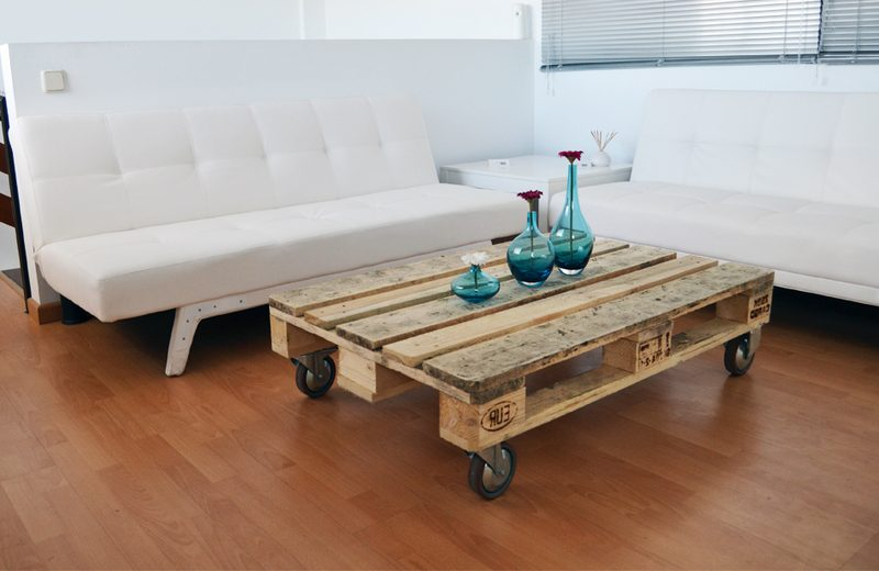 Mesas de comedor con palets great mesa de comedor hecha con madera de palets florida with mesas Mesas con palets
