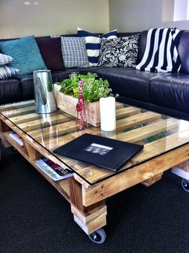 Mesas de palets ideas dise os comprar y como hacerlas - Comprar muebles de palets ...