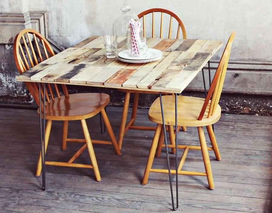 ▷ Mesas de Palets ◁ Ideas, Diseños, Comprar y como Hacerlas Facilmente