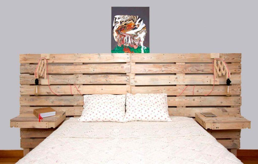 Mesas de palets ideas dise os comprar y como hacerlas - Mesita de noche original ...