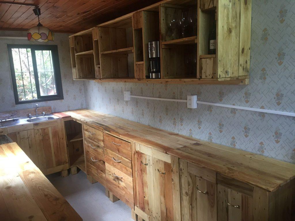 muebles cocina palets