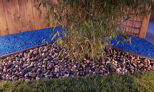 piedra colores jardin