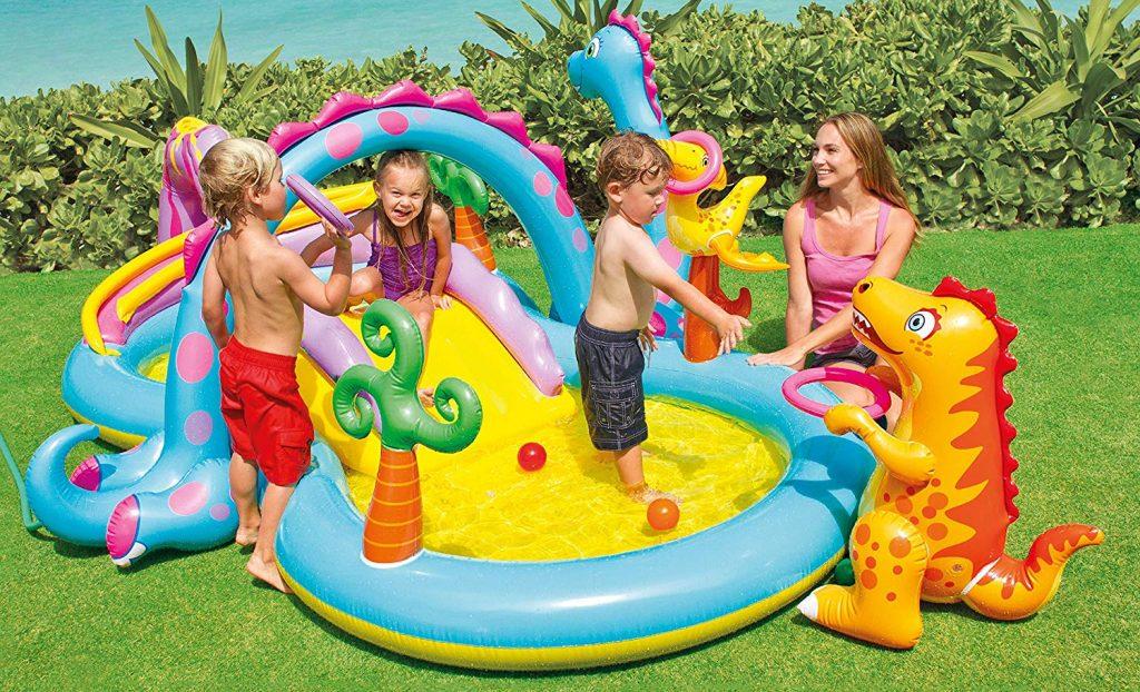 piscina hinchabla infantil