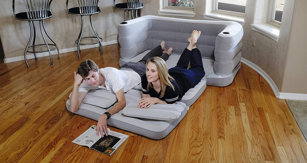 sofa cama hinchable
