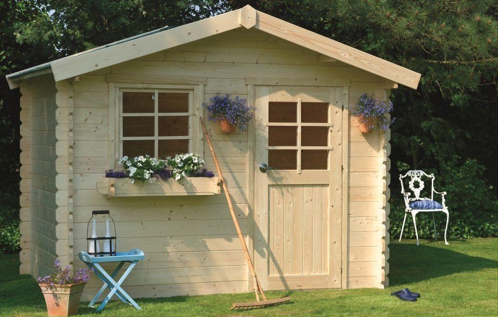 caseta madera jardin grande