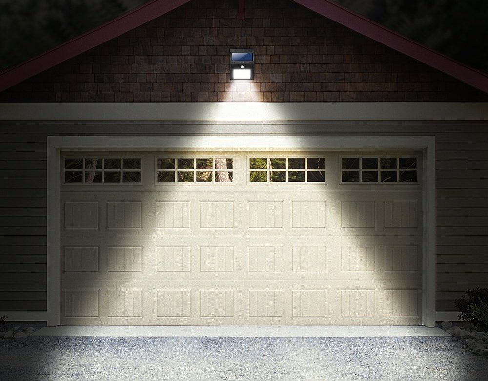 iluminacion solar garaje