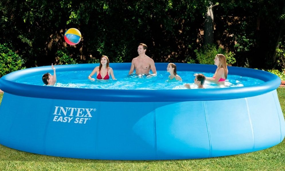 piscina hinchable grande