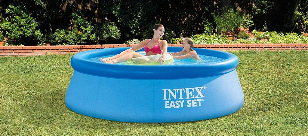 piscina mediana hinchable