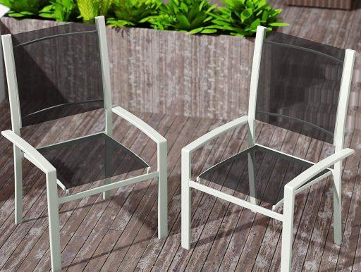 silla terraza jardin