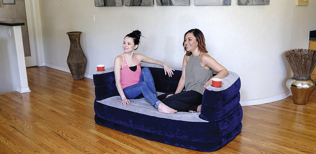 sofa hinchable economico