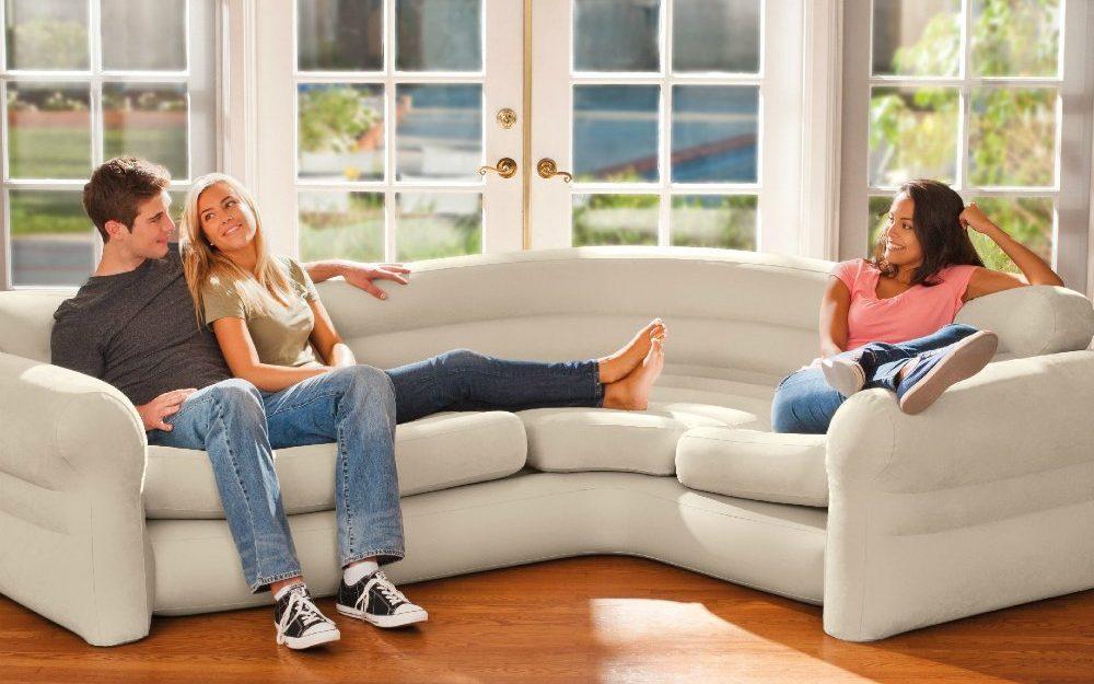 sofa rinconera inflable