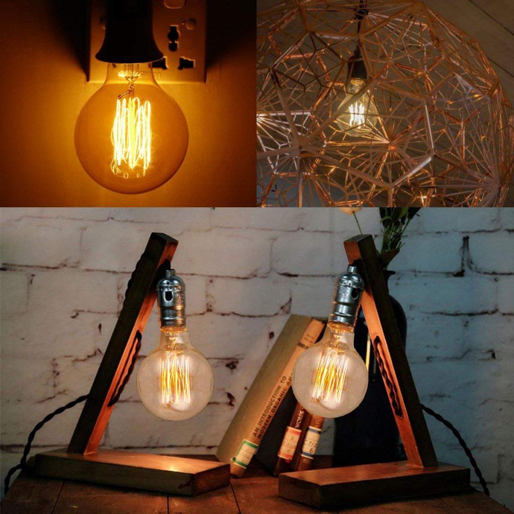 bombillas vintage decorativas