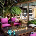 decoracion de terraza y jardin