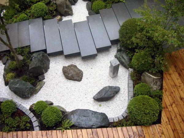 20 Fatasticas Ideas Para Decorar Tu Jardin Con Piedras