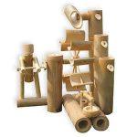 fuentes de bambu japonesa para jardin