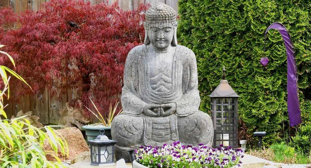 Estatuas buda de jard n grandes peque os baratos 2019 - Estatuas de jardin ...