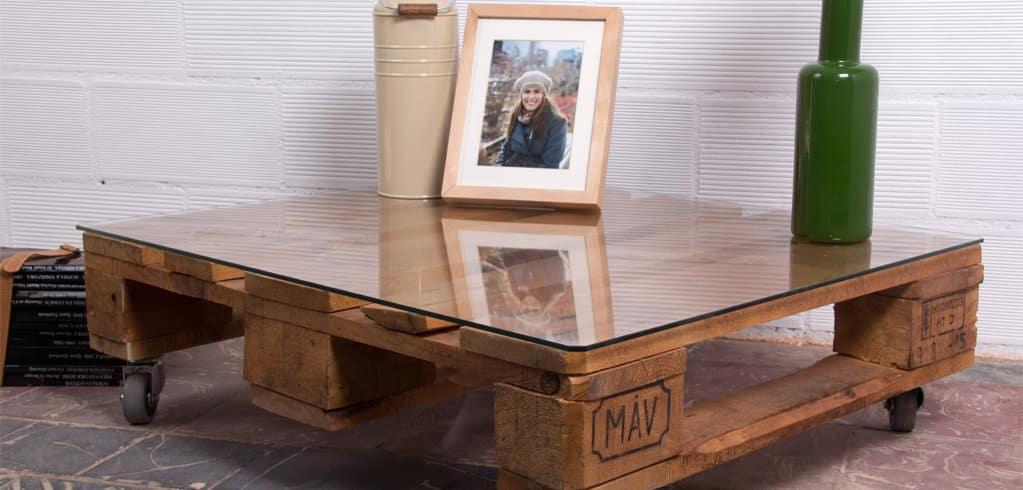 Mesas de Palets 】 Ideas, Diseños, Comprar y Como Hacerlas