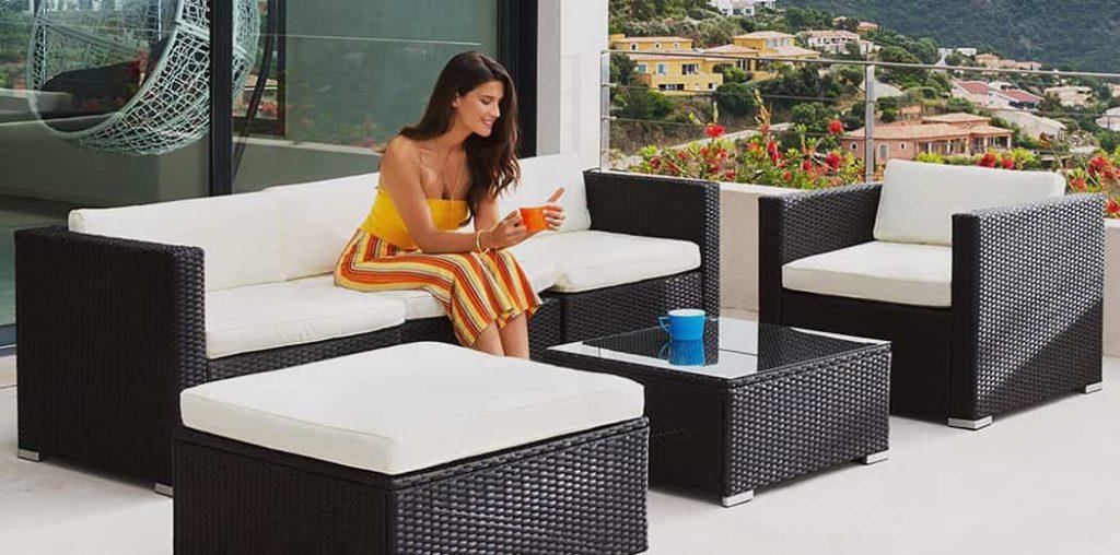 sofas jardin y terraza